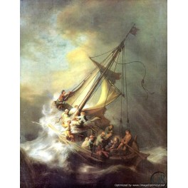 Rembrandt - Christ in the storm