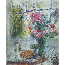 Marc Chagall - Still Life with Flowers