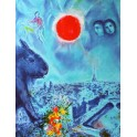 Marc Chagall - The Sun Over Paris