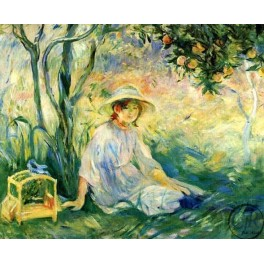Berthe Morisot - Under the Orangetree